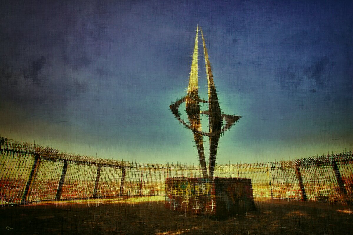 Trennung und Wiedervereinigung | Plumpenpickel im Volkspark Humboldhain