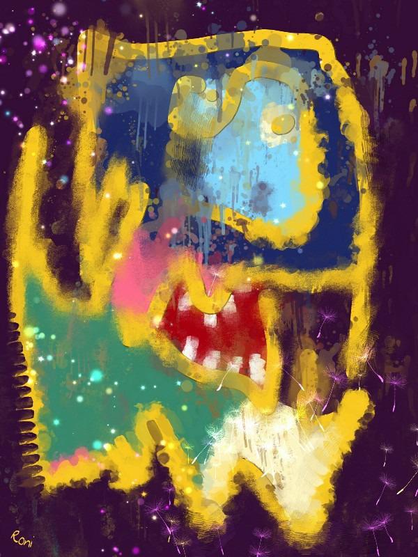 Rumpelstilzchen | Digitale Malerei