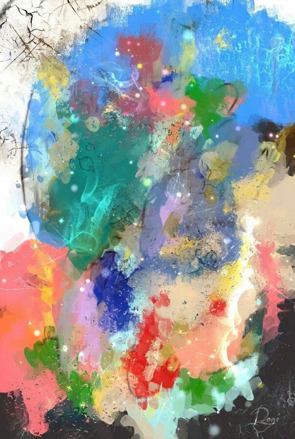 Digitale Malerei aus Berlin | Maler: Ron Kirchner (Roni)