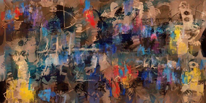 Digitale Malerei Roni Berlin