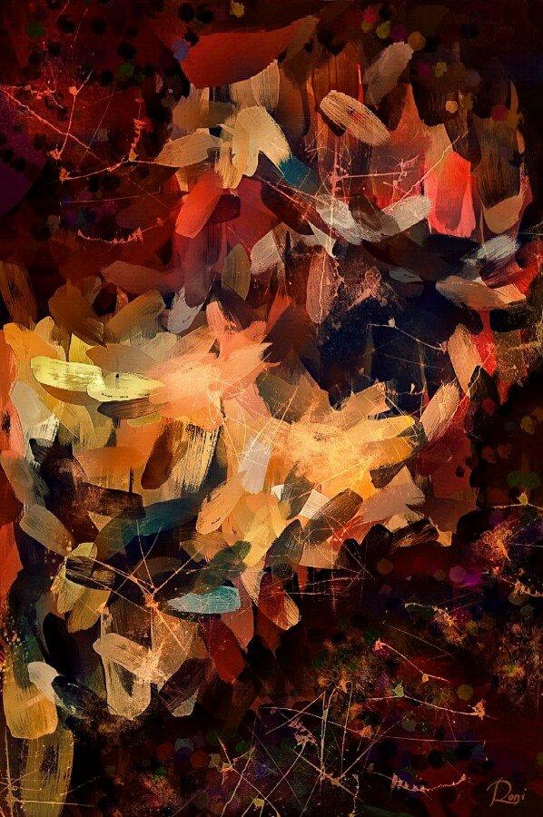 Malkuth | Zwischen Himmel und Erde | Ausstellung mit Digitaler Malerei