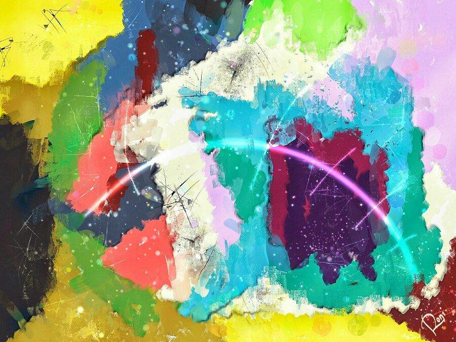 Digitale Malerei Berlin Ron Kirchner