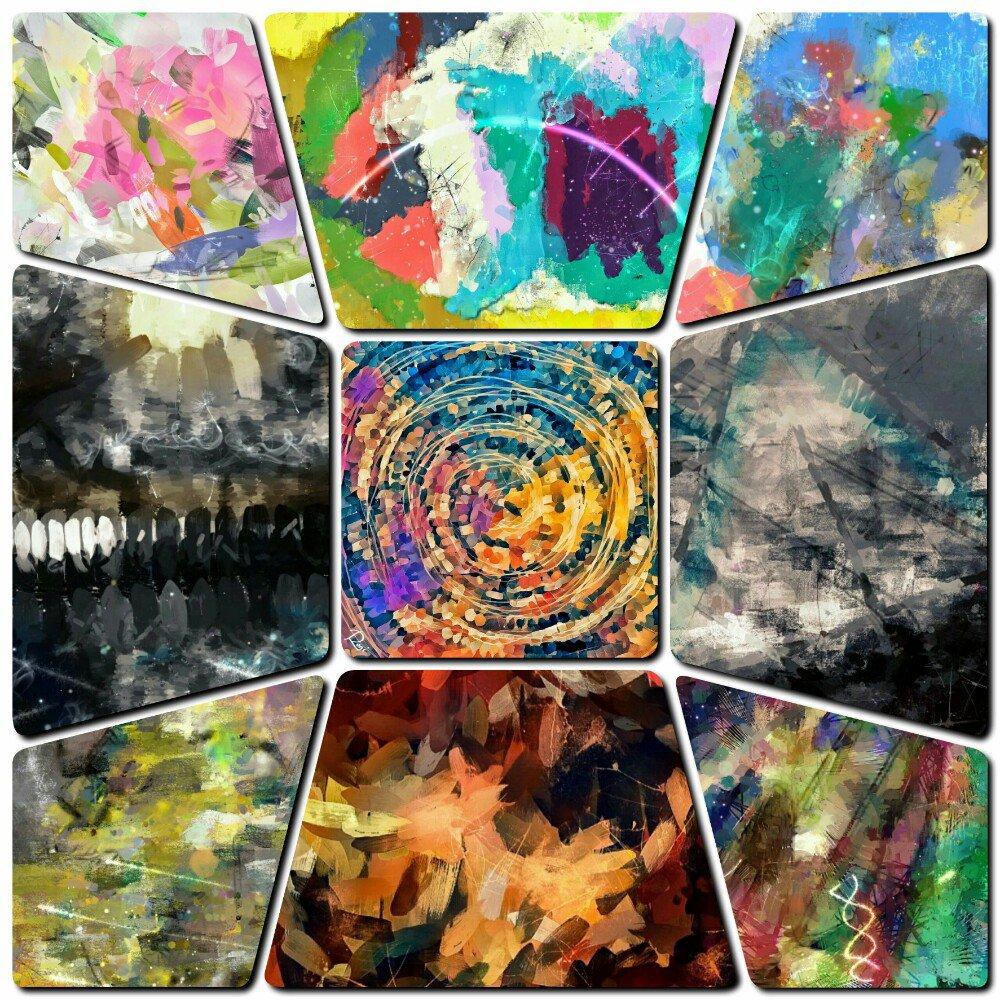 Zwischen Himmel und Erde Ausstellung Malerei Berlin