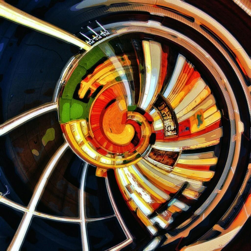 Digitale Malerei: Geburt und Individuation als Farbenklaviatur